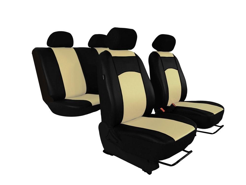 Autopotahy Ford C- MAX, od r. 2003-2010, 5 míst, kožené TUNING béžové