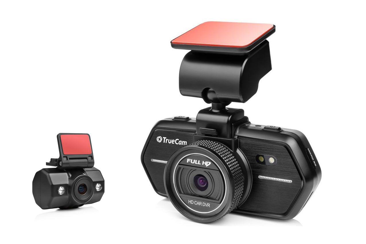 Palubní kamera TrueCam A6 duál, CZ menu