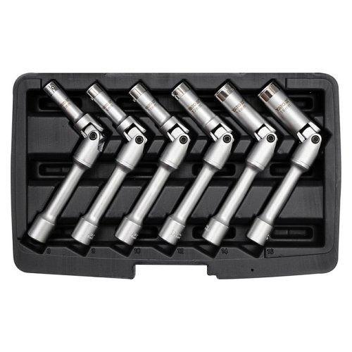Klíč na svíčky sada, 6ks, 8-16mm