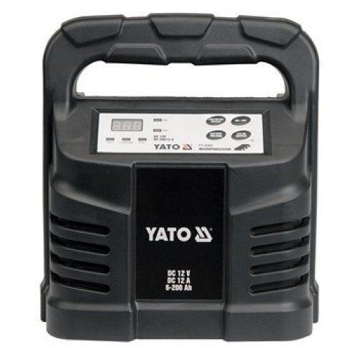 Elektronická nabíječka, 12A, 12V, procesor, YATO