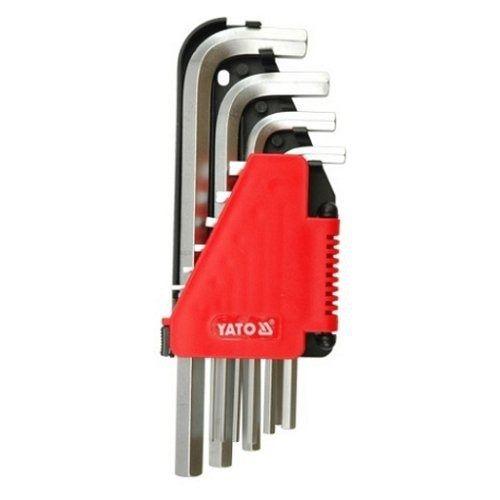 Sada klíčů imbus 10 ks, prodloužené