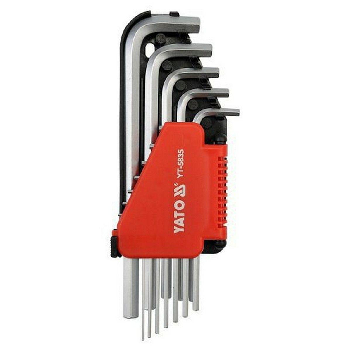 Sada klíčů imbus 12 ks delší