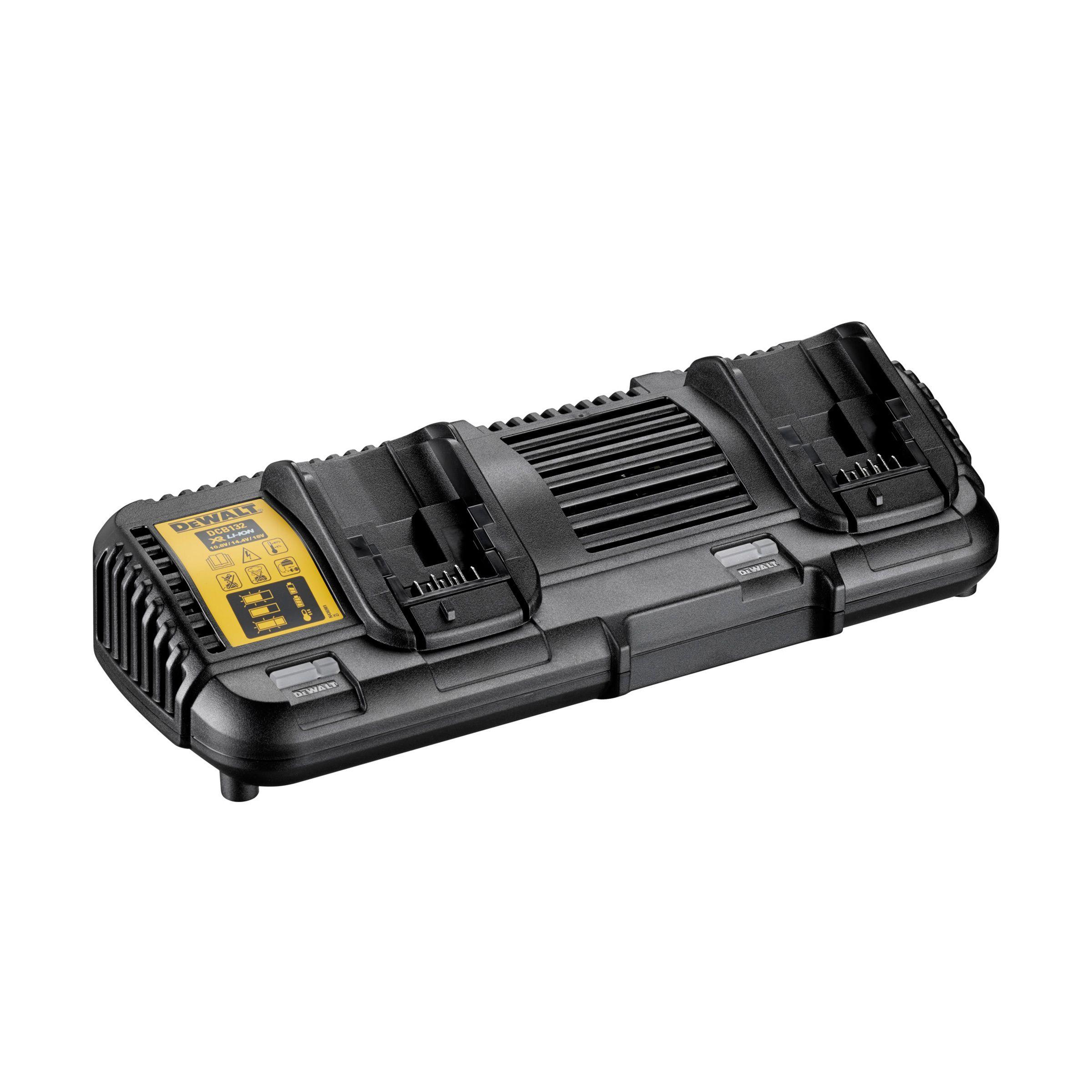 Dewalt XR FLEXVOLT dvojitá nabíječka - akumulátory XR 18 V a 54 V