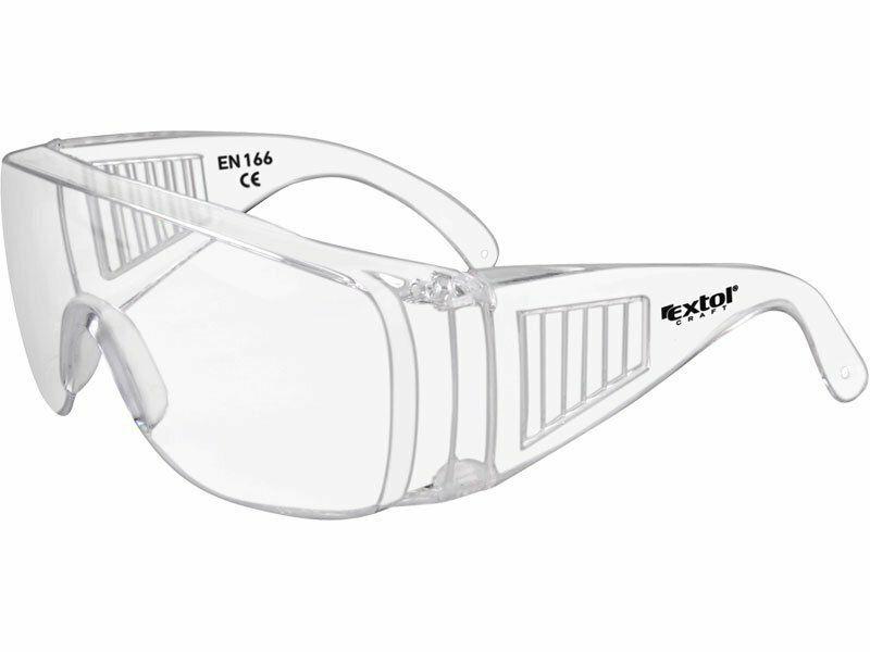Brýle ochranné polykarbonát, čiré, panoramatický zorník třídy F