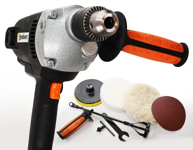 Kombinovaný přístroj – vrtačka, bruska, leštička a míchadlo PI201