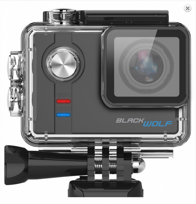 Sportovní kamera BlackWolf, CZ menu 1605-045