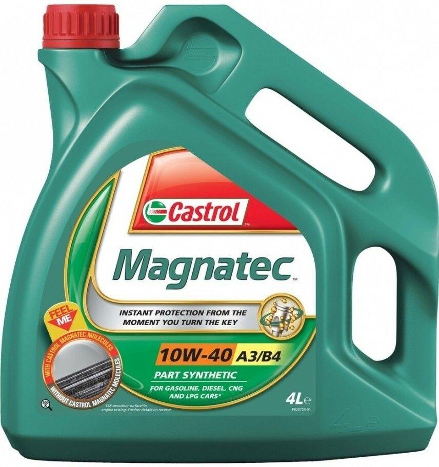 Motorový olej Castrol MAGNATEC 10W40 A3/B4 4L