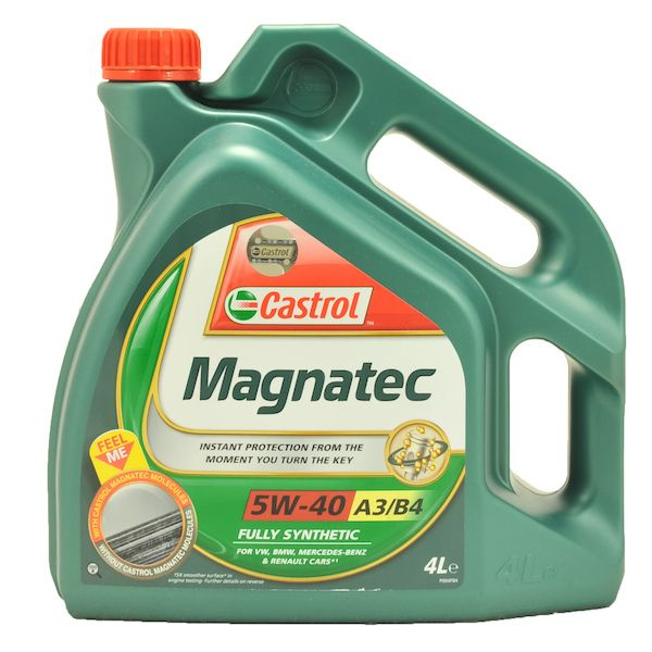 Motorový olej Castrol MAGNATEC A3/B4 5W40 4L