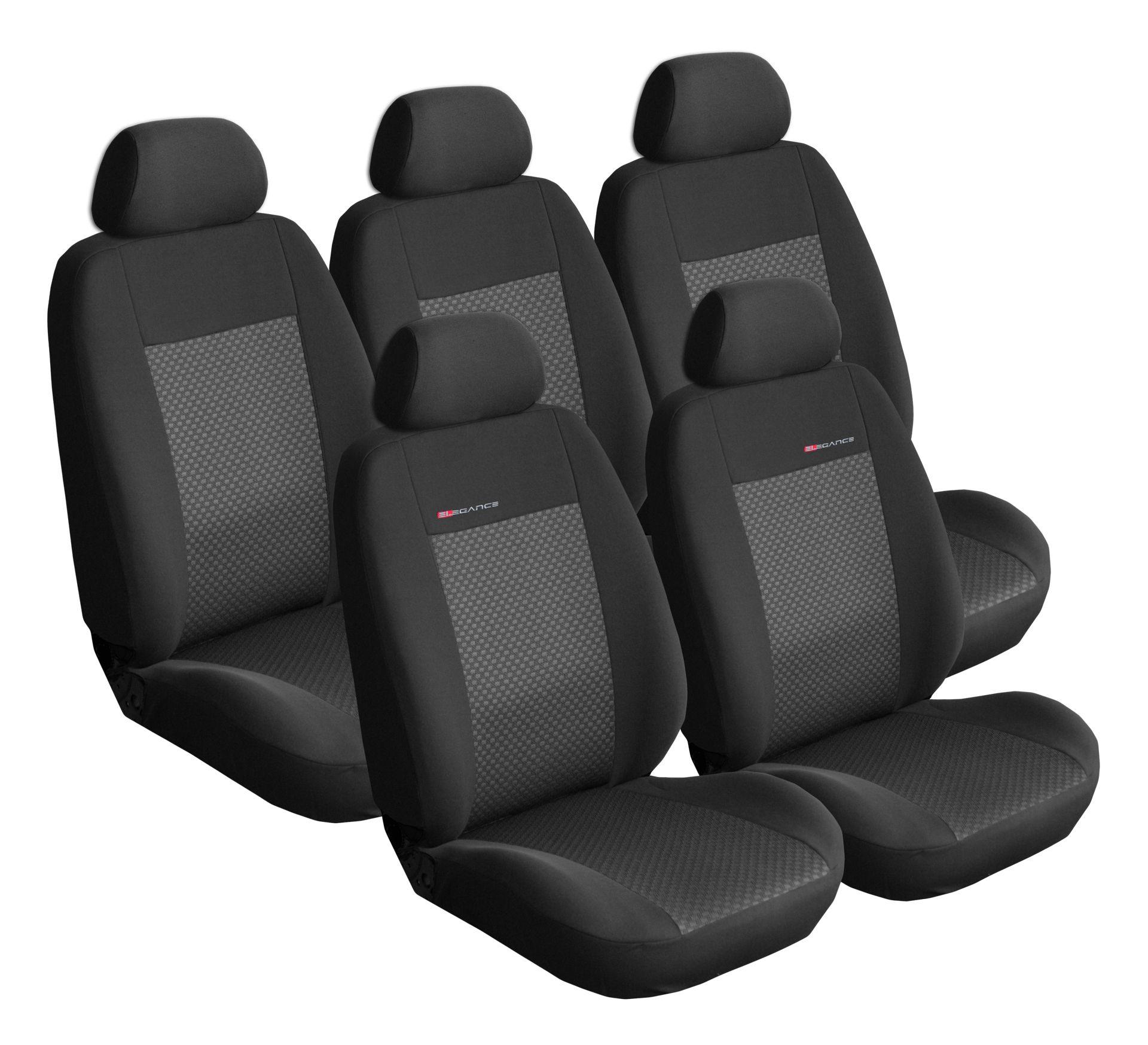 Autopotahy Citroen C4 Picasso II, od r.2010, 5 míst, černé