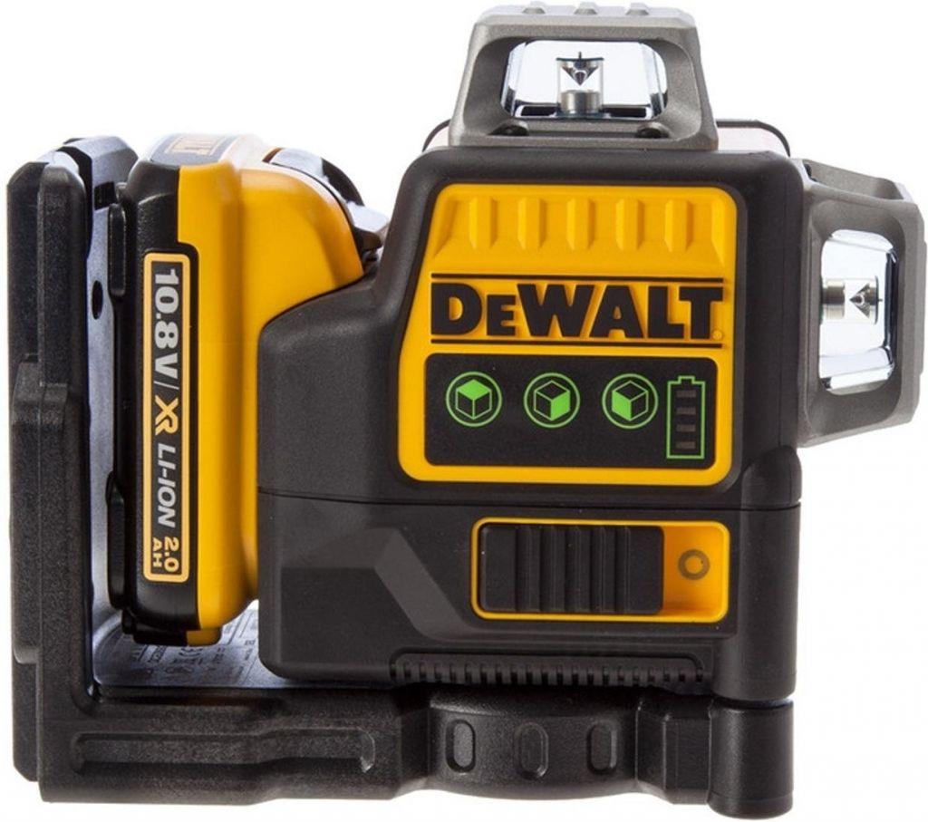 Aku křížový zelený laser 2x360° 10,8V XR 1x2,0Ah DeWALT