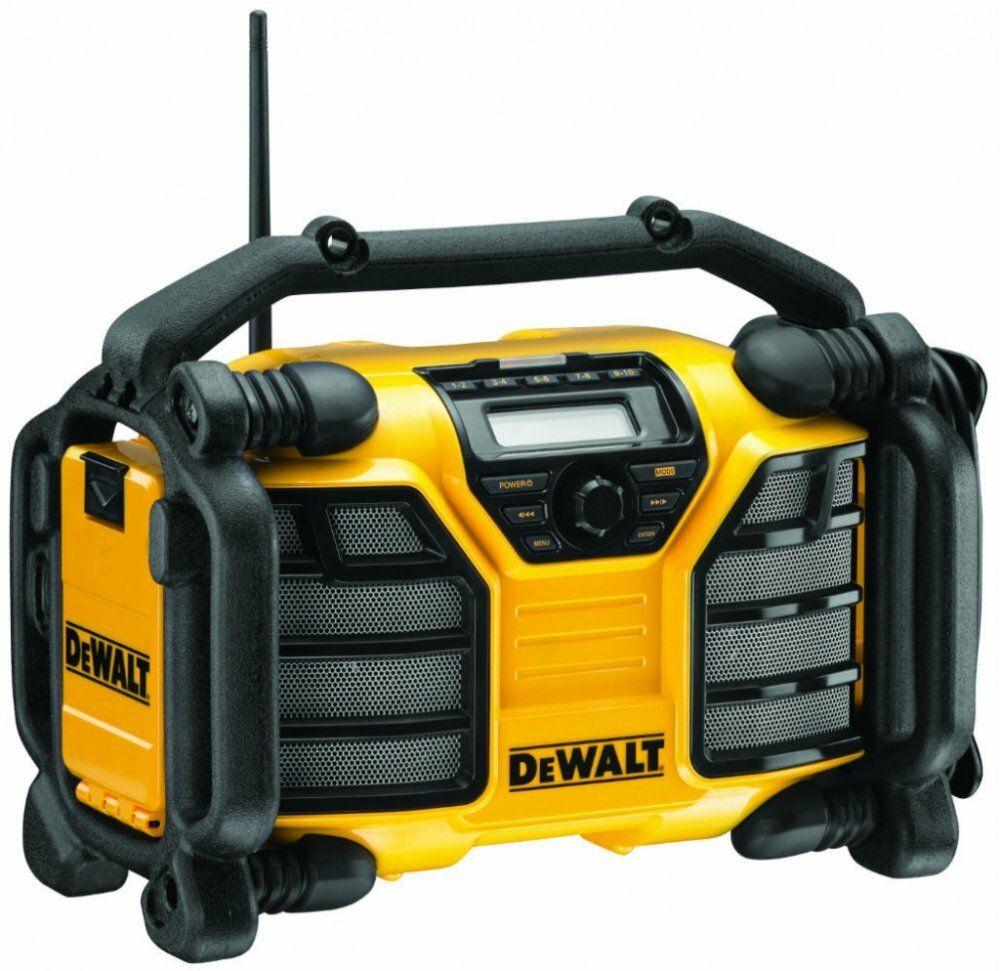Aku rádio DeWalt bez akumulátorů DCR017