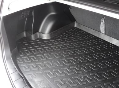 Vana do kufru plastová Honda Jazz III Hatchback (13-)