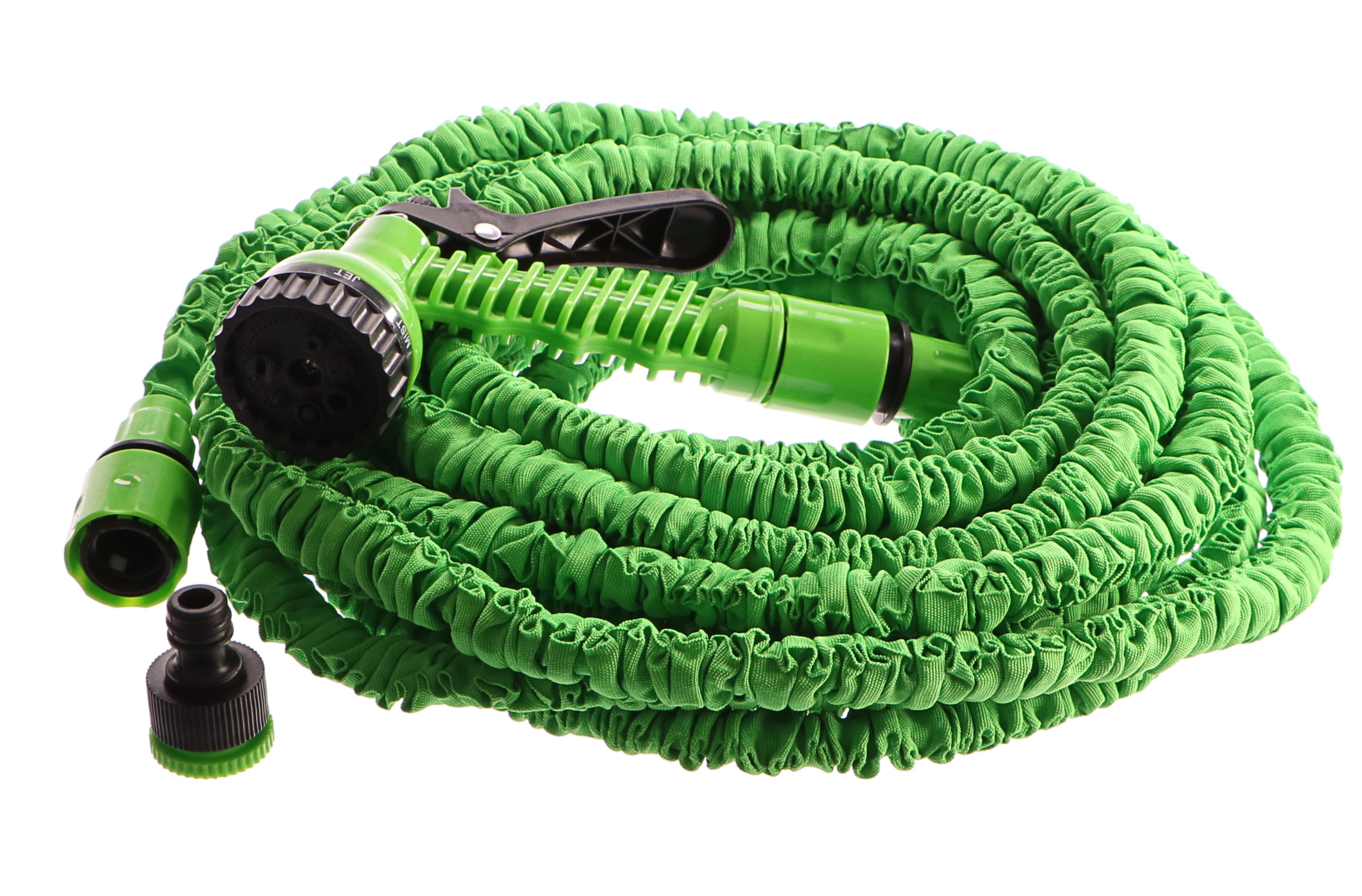 Zahradní hadice smršťovací, 10m-30m, 7 funkcí, GEKO