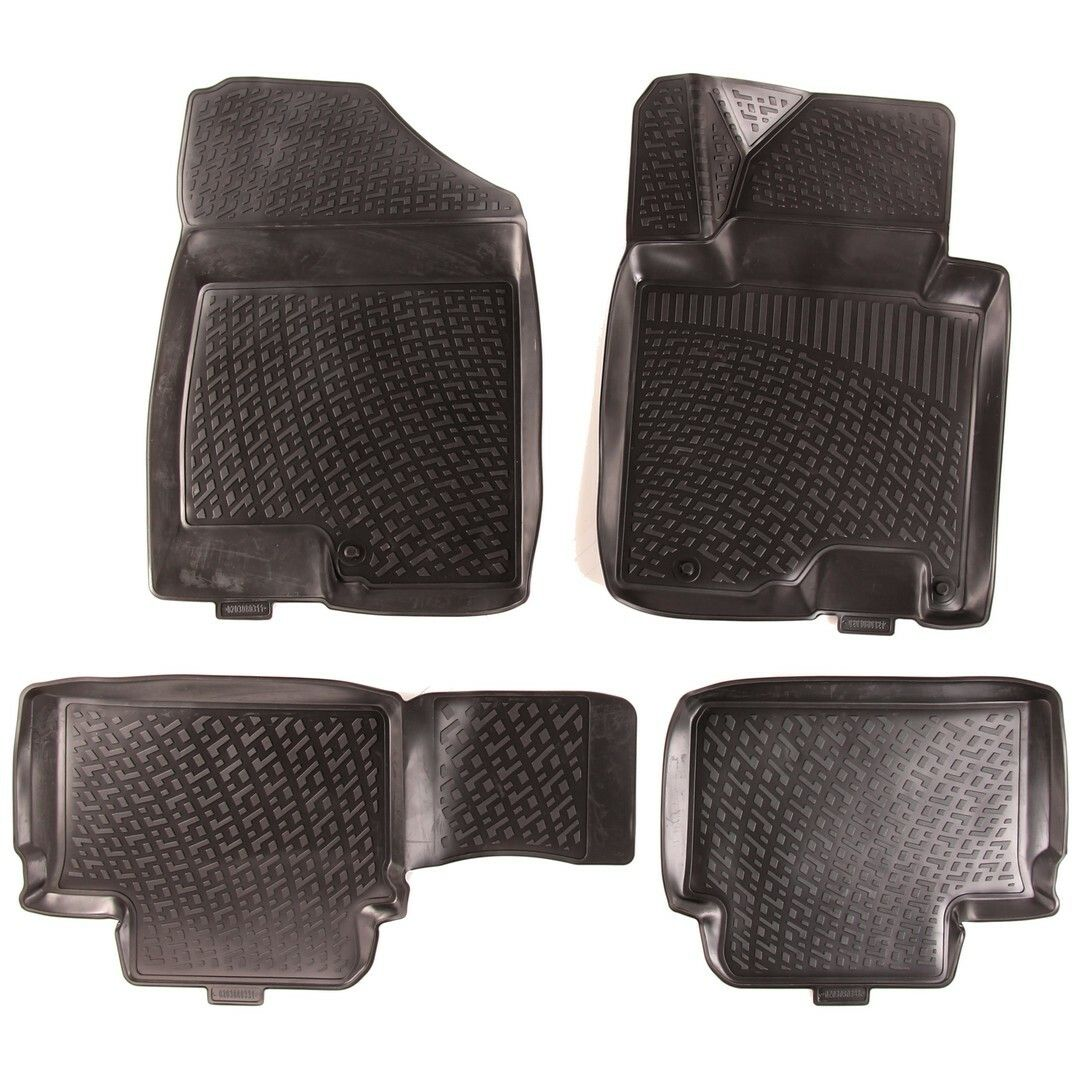 Gumové koberce Kia Ceed II Hatchback (EU) (12-) (3D)