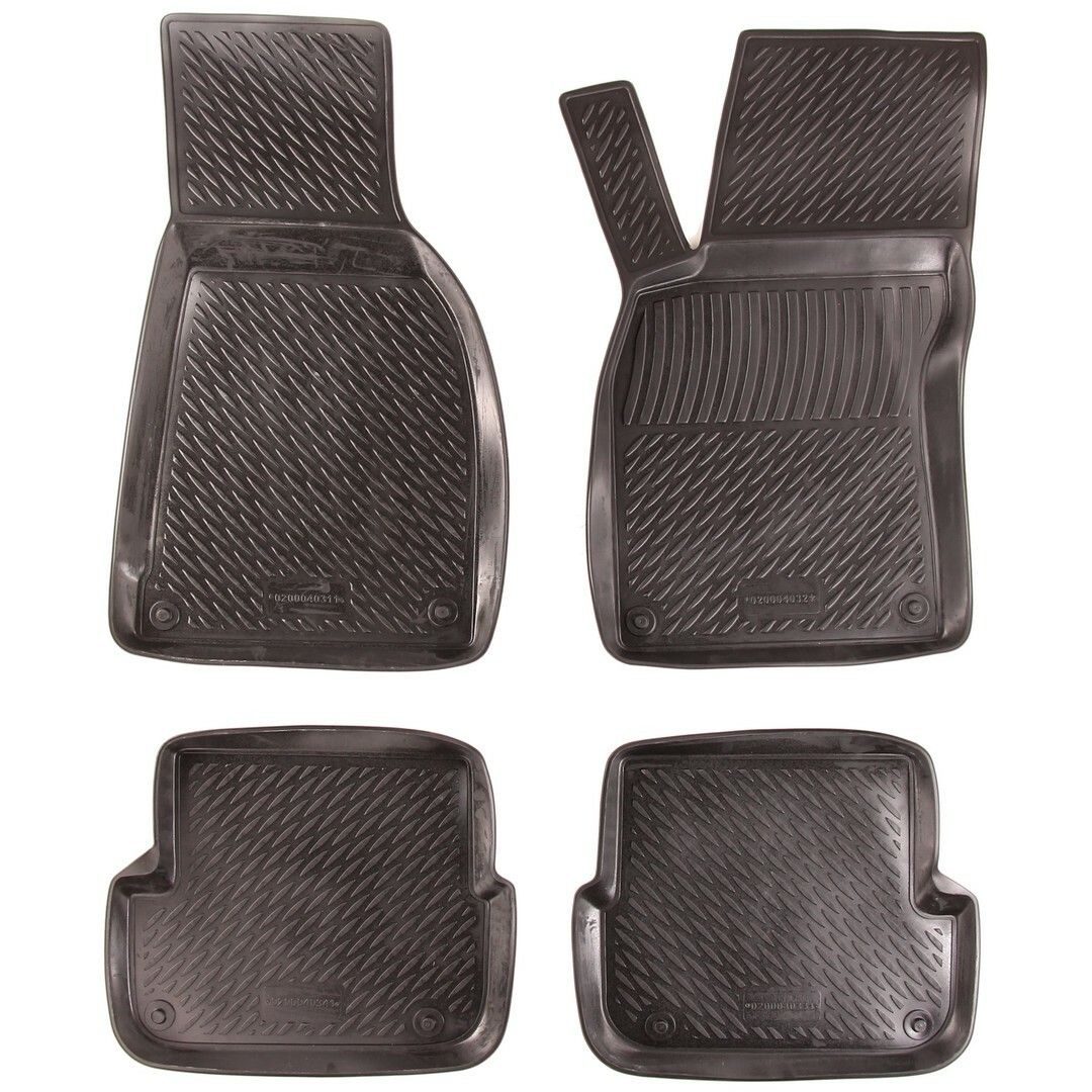 Gumové koberce Audi A6 Limousine / Avant (C6 4F) (04-11) (2D)