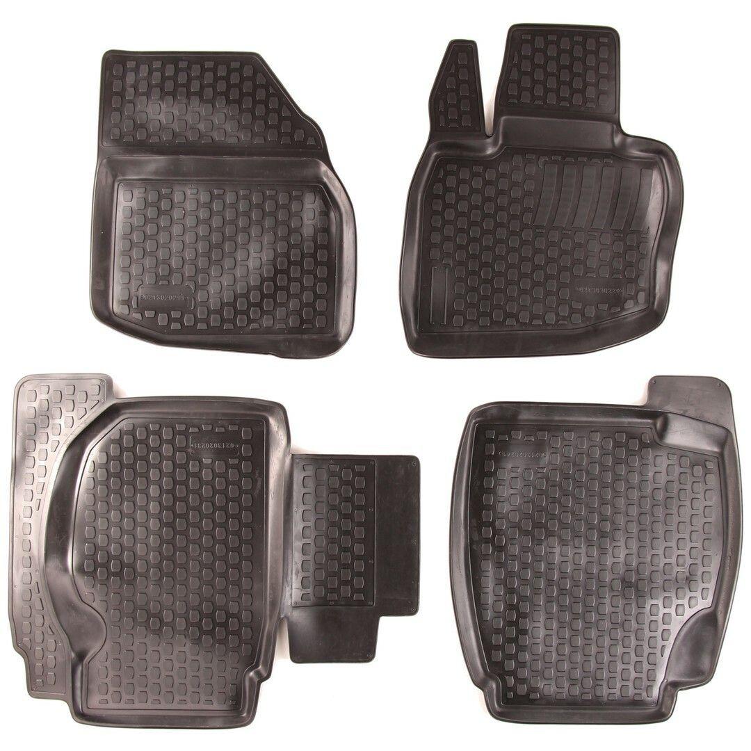Gumové koberce Honda Civic VIII Hatchback (FD1/2/7 FA1 FG1/2 FA5 FK FN) (06-11) (2D)