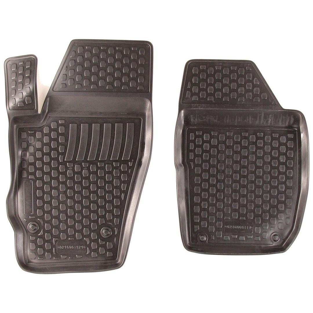 Gumové koberce Škoda Roomster I Praktik (5J8) (pouze přední) (2-sedadla) (06-) (2D)