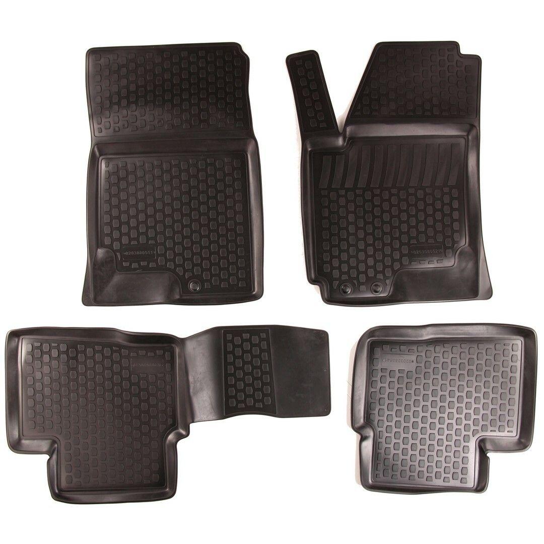 Gumové koberce Kia Ceed I (ED) Facelift (10-12) (2D)