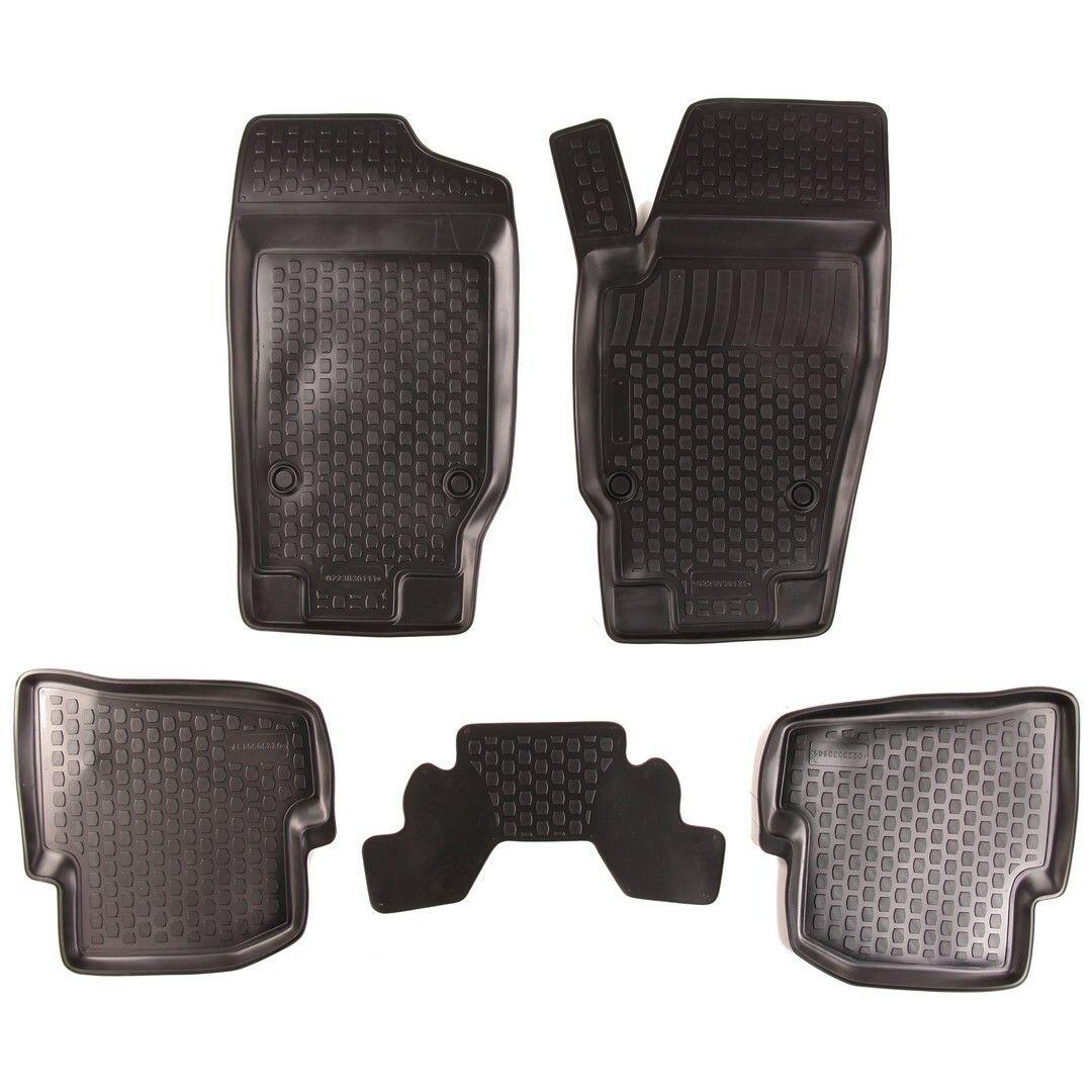 Gumové koberce Seat Ibiza IV (6J) (08-) (2D)