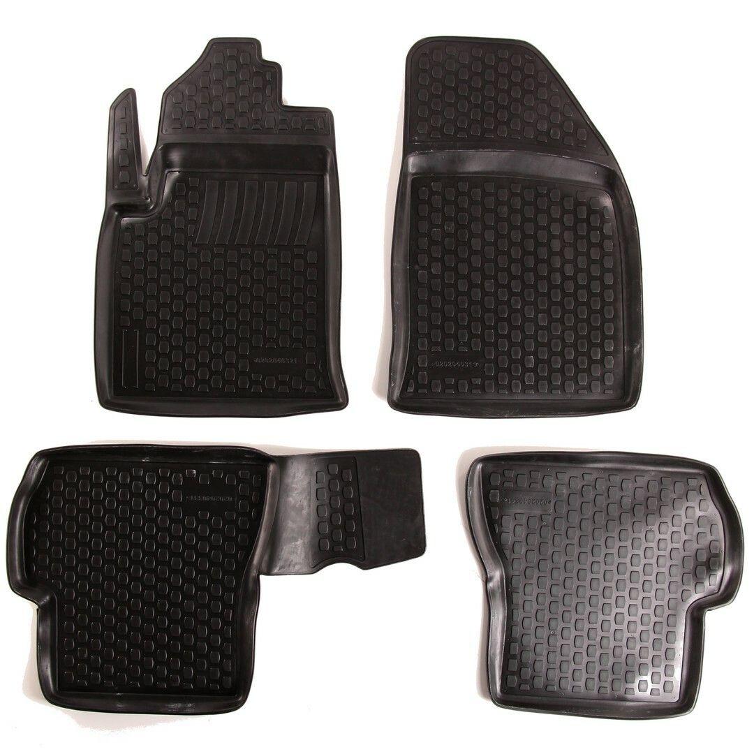 Gumové koberce Ford Fiesta V (JH/JD) (02-09) (2D)