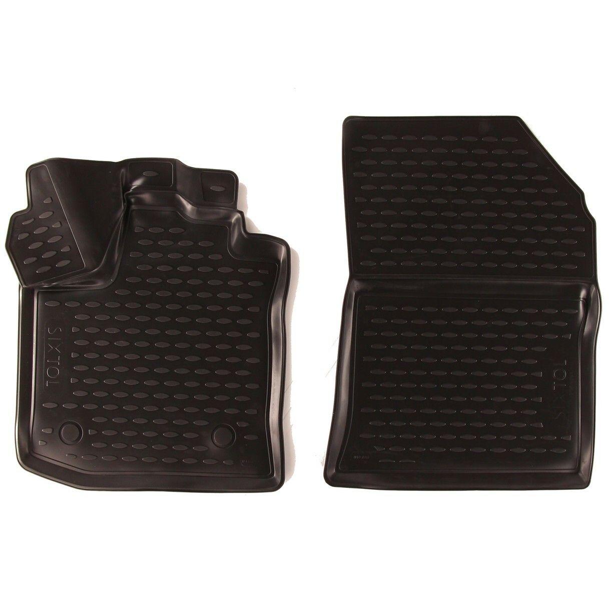 3D Gumové koberce RENAULT Dokker, 2012->, cargo, pouze přední;, 2ks