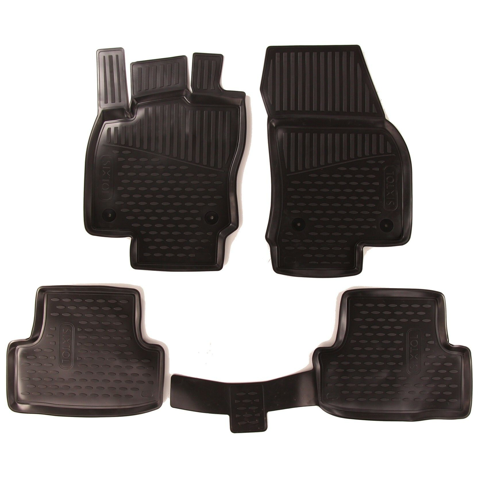 Gumové koberce SEAT Ateca, 2016->, Compact SUV, Evropa
