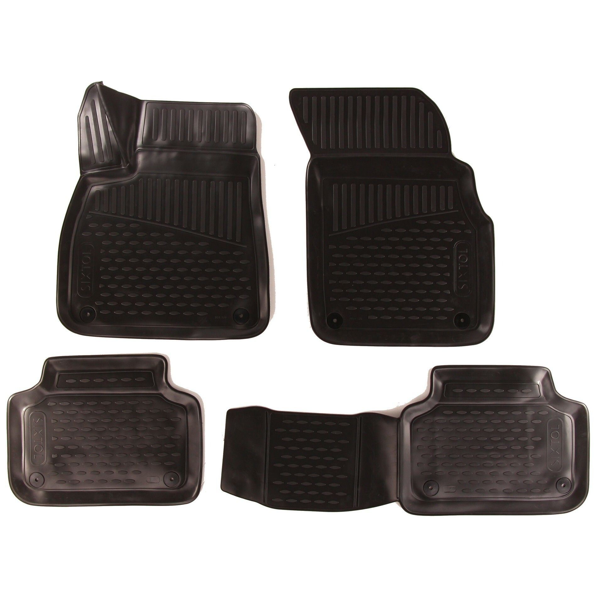 3D Gumové koberce AUDI Q7 ||, 2015->, SUV