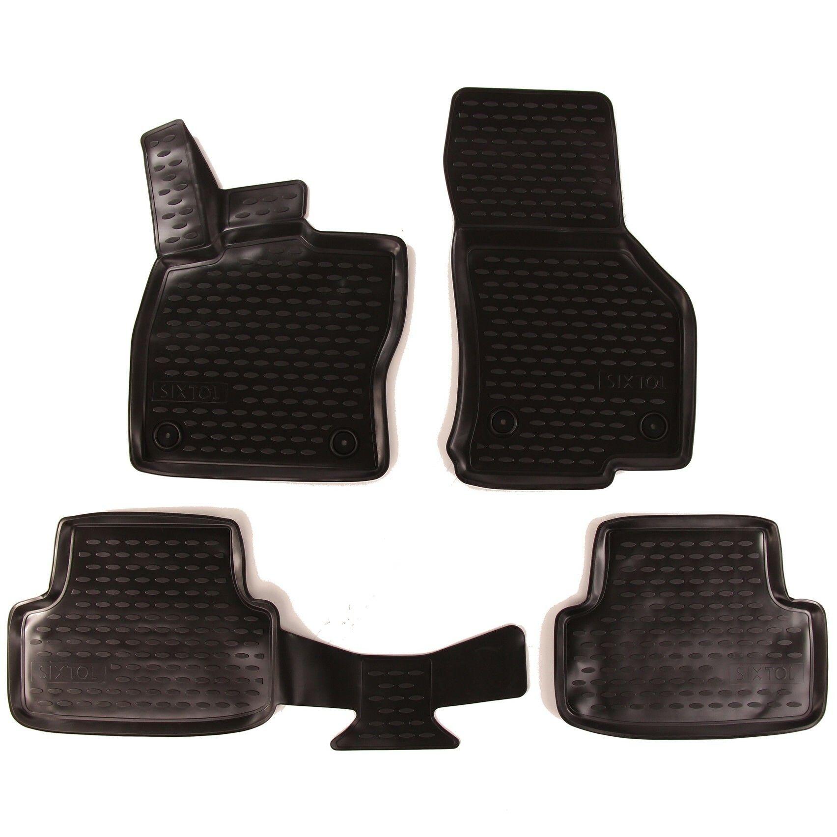 3D Gumové koberce SEAT Leon, 2012->, Typ 5F