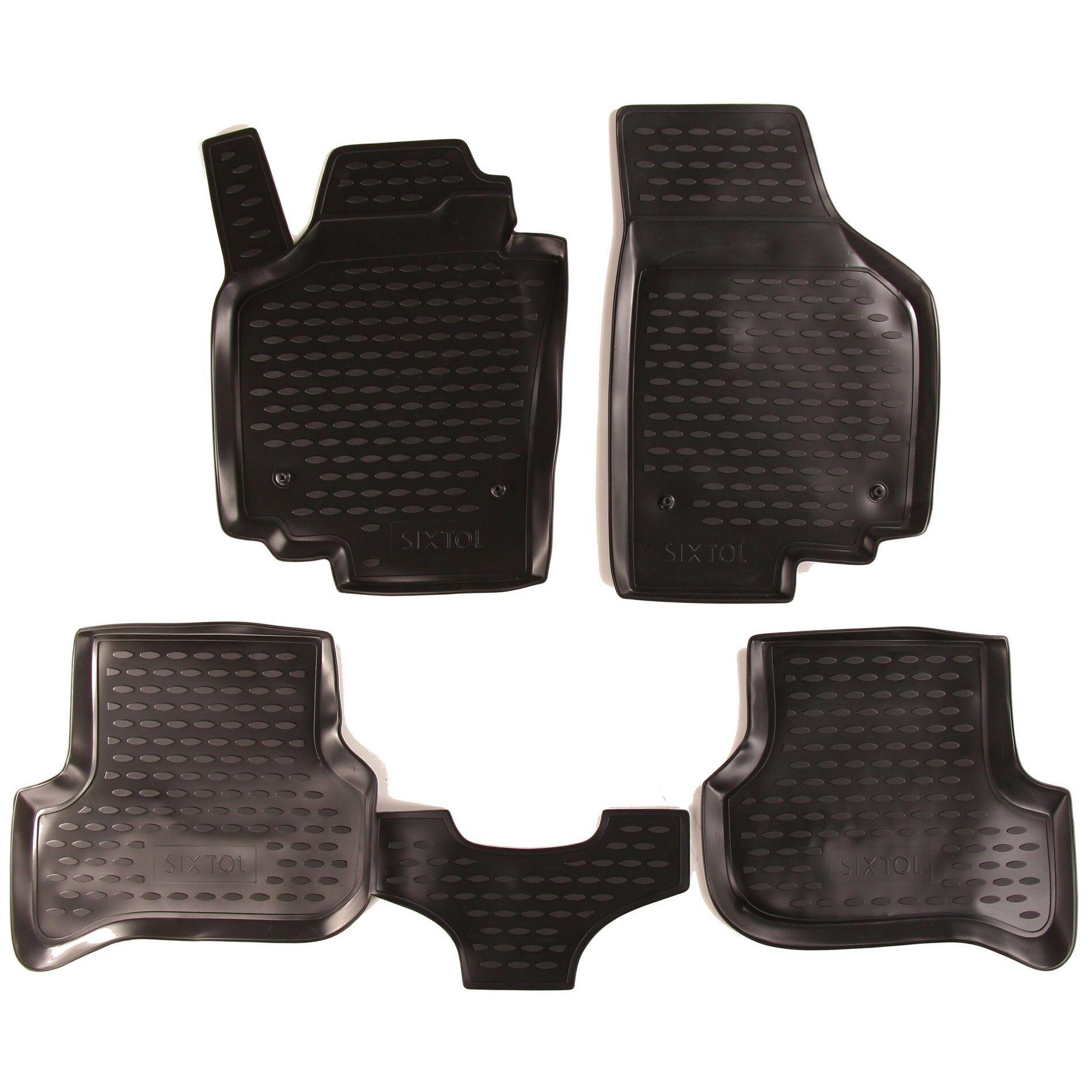 Gumové koberce SEAT Altea Freetrack, 2007-2009