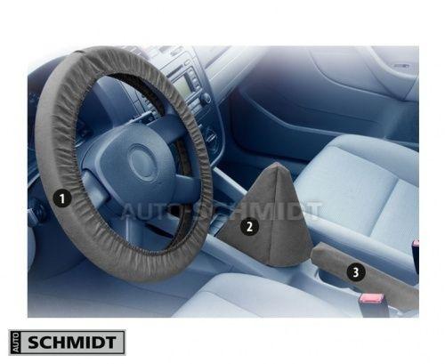 Servisní ochranný kryt na volantu, řadicí páky a brzdy