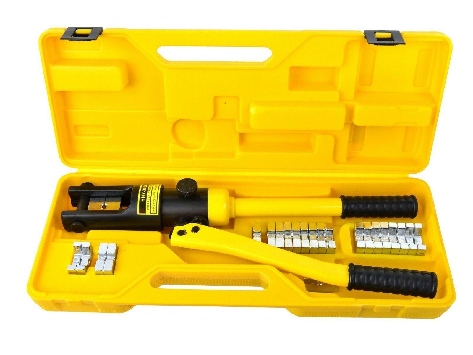 Krimpovací nářadí na kabely, hydraulické, 18 t, 10-300 mm2, GEKO