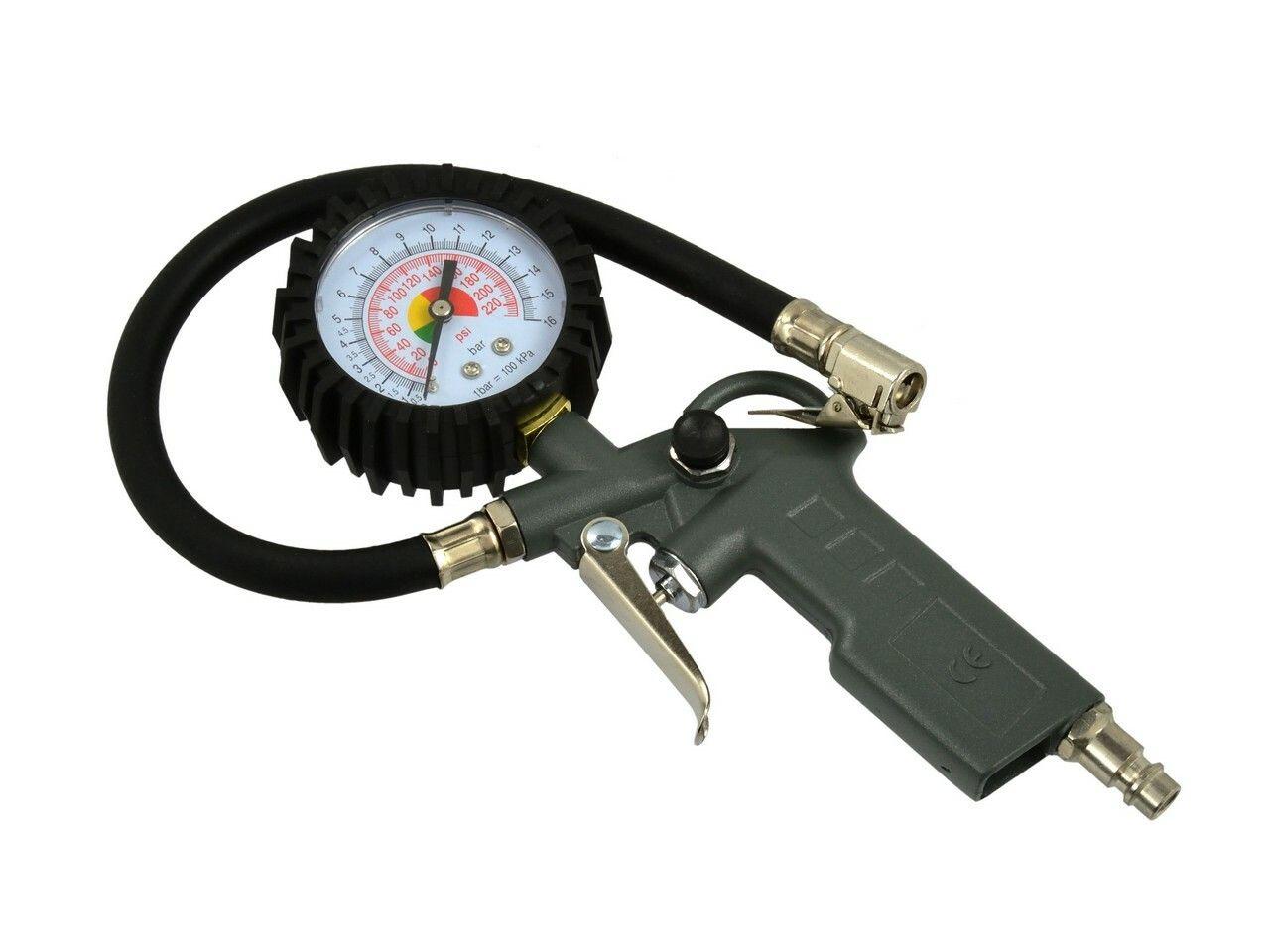 Pistole foukací s manometrem, max. tlak 8bar, GEKO