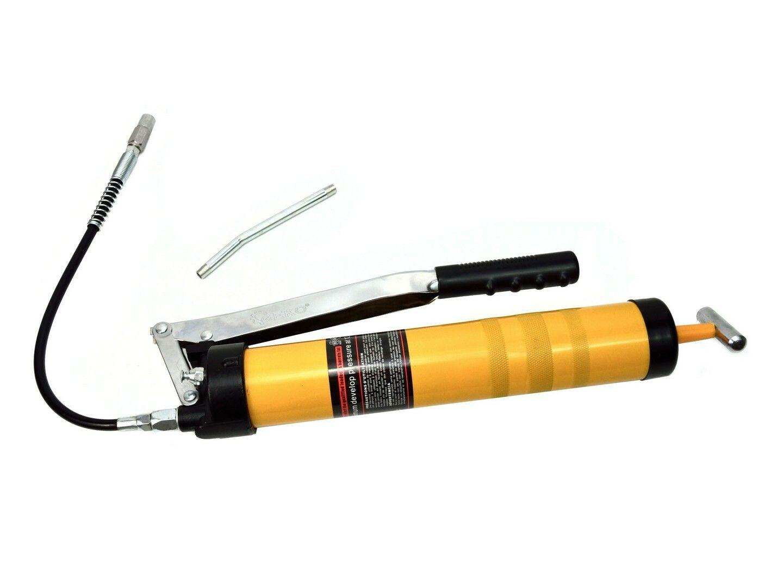 Pistole na mazání ruční PROFI + příslušenství, 900 ml, GEKO