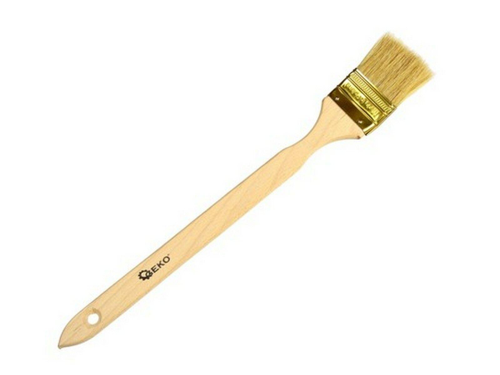 Štetec šikmý, 50 mm, dřevěná rukojeť, GEKO