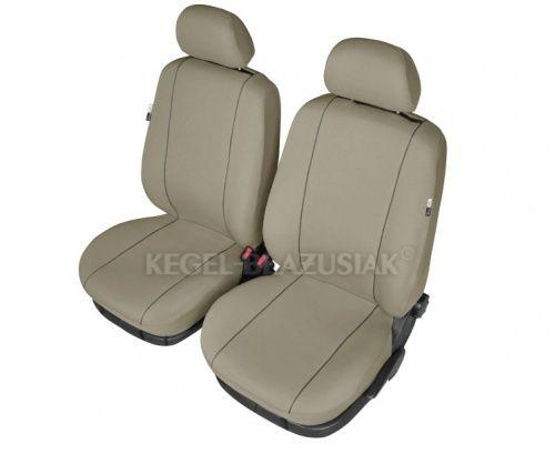 Autopotahy HERMES na přední sedadla, béžová