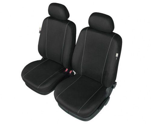 Autopotahy HERMAN na přední sedadla, černé