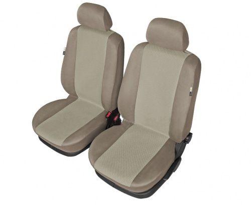 Autopotahy MARS II na přední sedadla, béžové