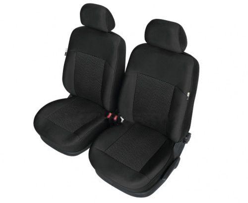 Autopotahy POSEIDON na přední sedadla, černé