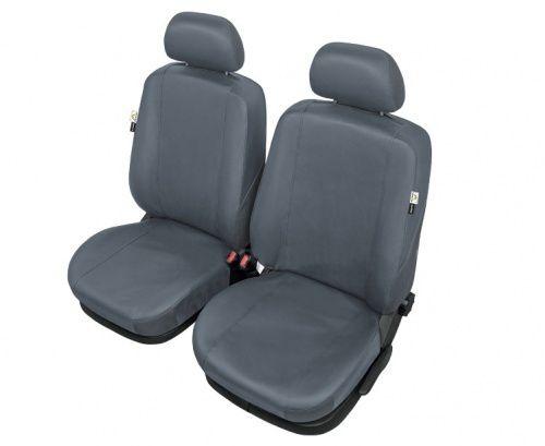 Autopotahy PRACTICAL na přední sedadla, šedé