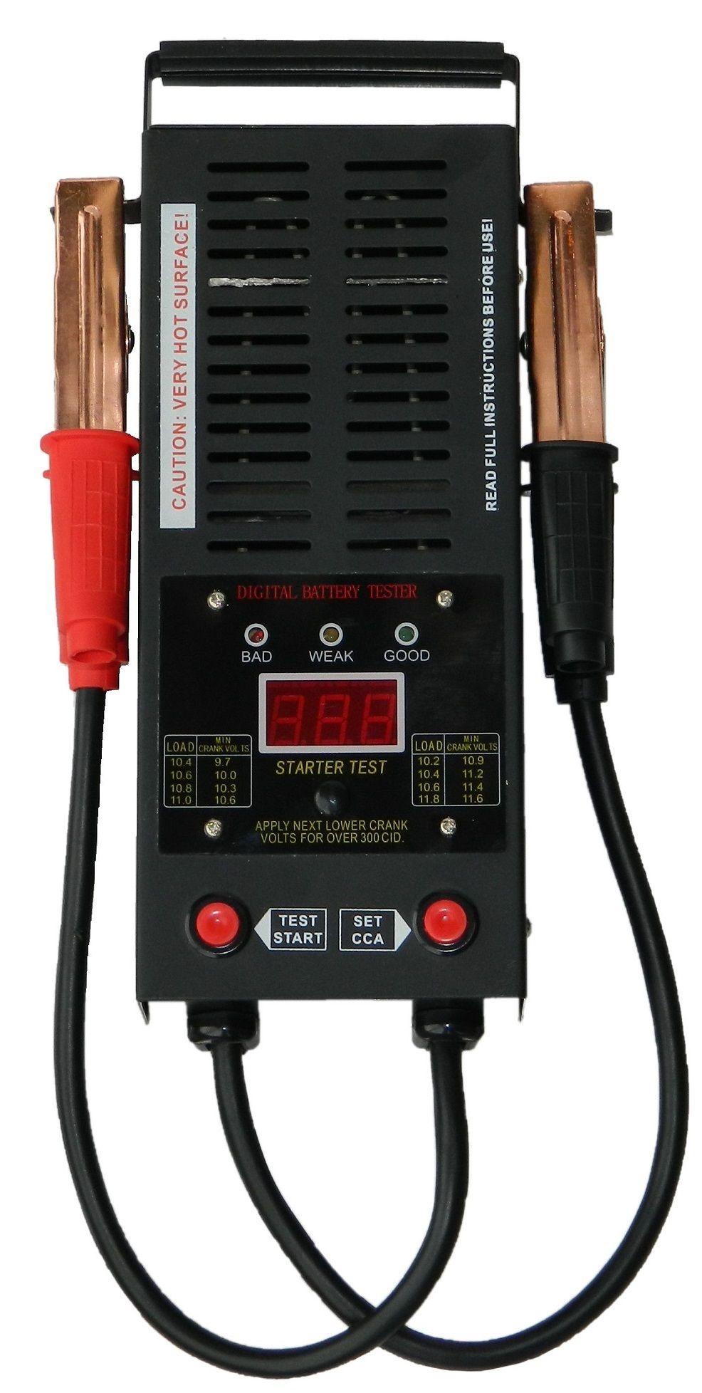 Zátěžový tester akumulátorů, digitální (12V, 100A)