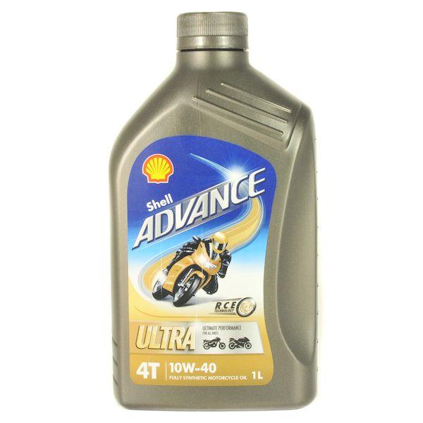 Motorový olej Advance Ultra 4T 10w-40 1L
