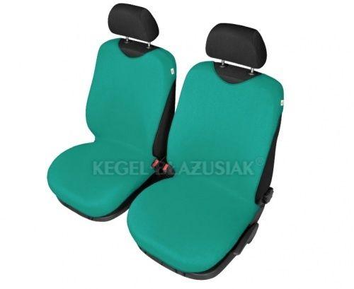 Autopotahy Tričko BAVLA na přední sedadla - zelená
