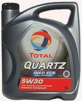 Motorový olej Total QUARTZ INEO ECS 5W-30 5L