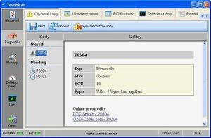 OBDLink SX diagnostika + CZ program TouchScan - 3 roky