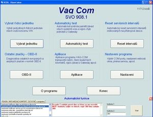 Diagnostika VAG-COM Max2015
