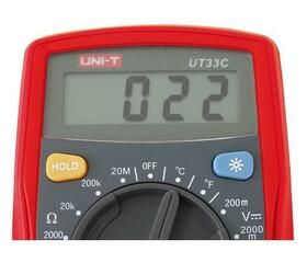 Digitalní multimetr UT- 33C - UNI-T