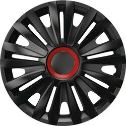 Poklice ROYAL Red Ring Black 1ks 13""