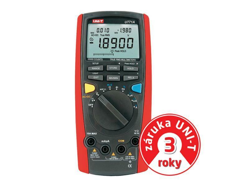 Multimetr UNI-T UT 71A (záruka 3 roky)
