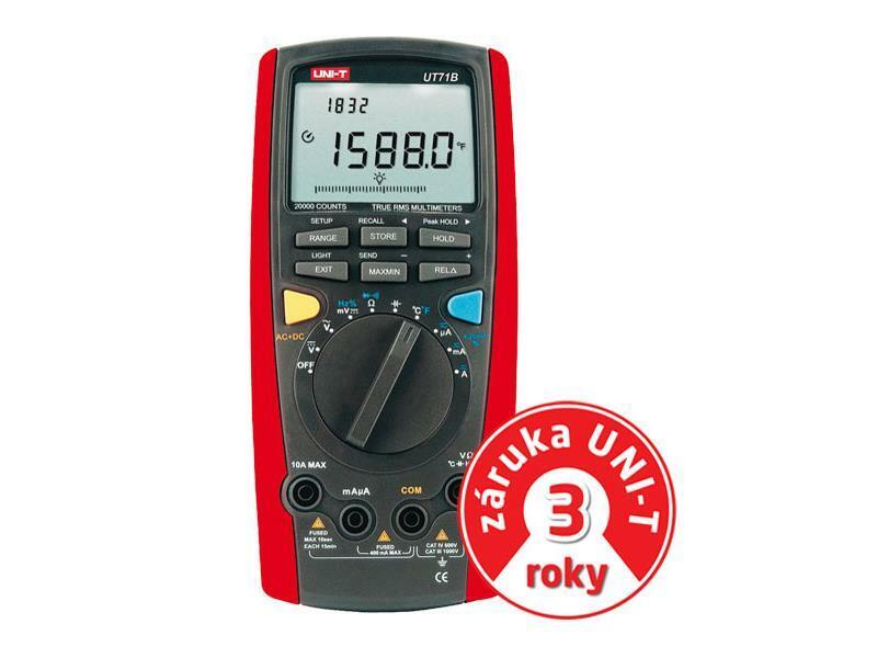 Multimetr UNI-T UT 71B (záruka 3 roky)