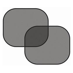 Clona sluneční na boční okno, černá, 2 přísavky